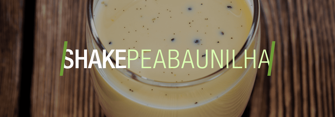 Shake Pea Baunilha