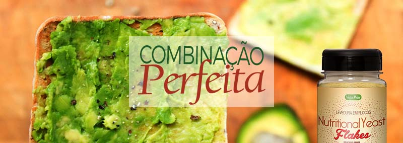 avocado toast com Nutritional Yeast